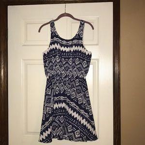 Tribal print bow-back sundress